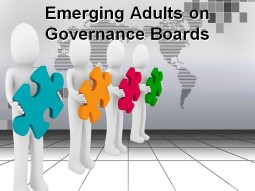 Emerging Adults on Governance Boards