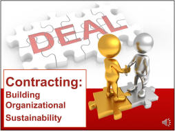 Contracting: Building Organizational Sustainability